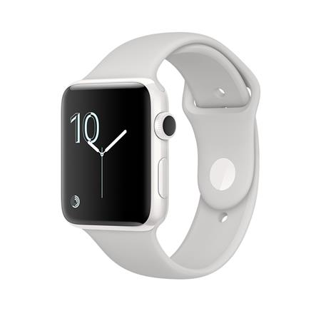 Apple Watch Edition, 38mm White Ceramic Case with Cloud Sport Band
