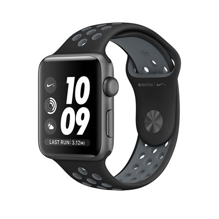 Apple Watch Nike+, 38mm Space Grey Aluminium Case with Black/Cool Grey Nike Sport Band