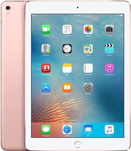 9.7-inch iPad Pro Wi-Fi + Cellular 128GB - Rose Gold; MLYL2FD/A