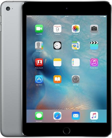 iPad mini 4 Wi-Fi 128GB Space Gray; MK9N2FD/A