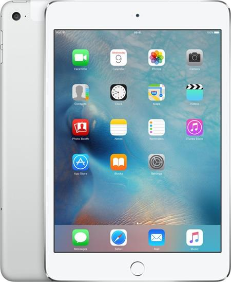 iPad mini 4 Wi-Fi + Cellular 32GB - Silver