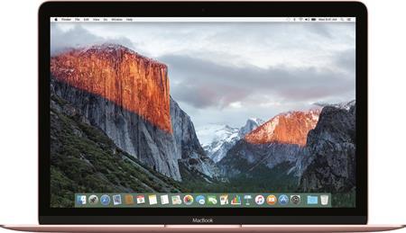 MacBook 12-inch Retina Core m3 1.1GHz/8GB/256GB/Intel HD 515/Rose Gold; MMGL2CZ/A