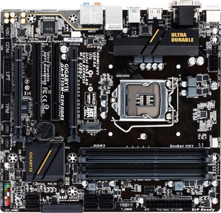 GIGABYTE GA-B150M-D3H DDR3 - základní deska; GA-B150M-D3H DDR3