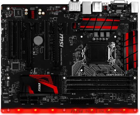 MSI B150A GAMING PRO - základní deska; B150A GAMING PRO
