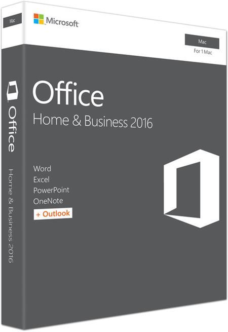 Office Mac 2016 pro domácn. a podnikatele CZ, P2; W6F-00999
