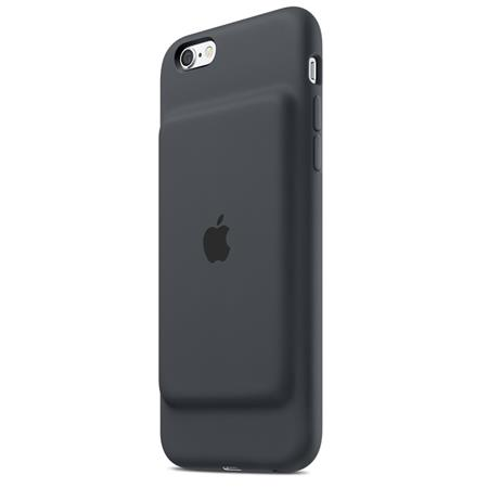 iPhone 6s Smart Battery Case Charcoal Gray; MGQL2ZM/A