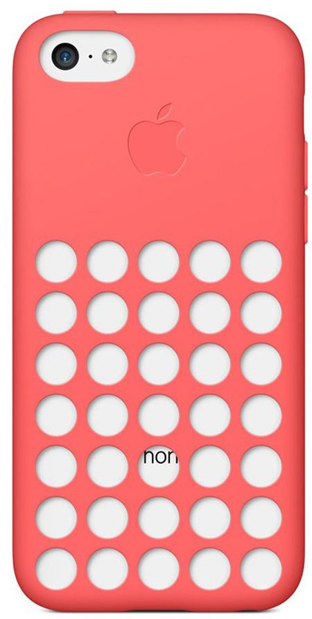 iPhone 5c Case Pink; MF036ZM/A