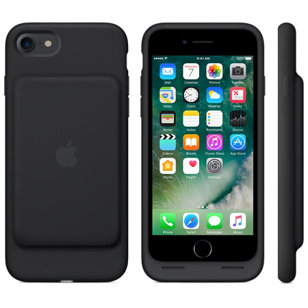 iPhone 7 Smart Battery Case - Black; MN002ZM/A