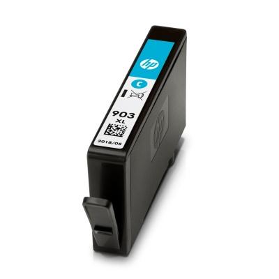 HP T6M03AE - inkoust azurový číslo 903XL pro HP OfficeJet 6950/6960/6970 AIO, 825 str.; T6M03AE