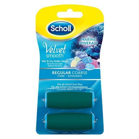 SCHOLL Velvet Smooth náhrady hrubá 2ks; 460300159999