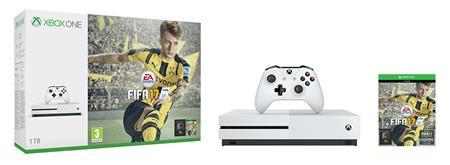 Microsoft XBOX ONE S 1TB + FIFA 17 + 1 měsíc EA Access; 234-00032