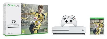 Microsoft XBOX ONE S 500GB + FIFA 17 + 1 měsíc EA Access; ZQ9-00056