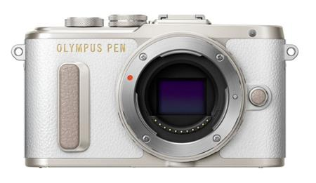 Olympus E-PL8 body white