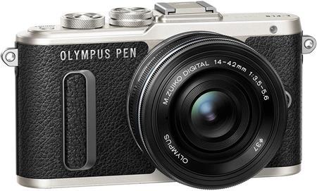 Olympus E-PL8 1442 Pancake Zoom Kit black/blk; V205082BE000