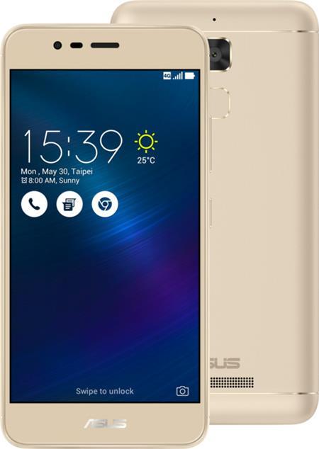 Asus ZenFone 3 Max ZC520TL-4G076WW, zlatý
