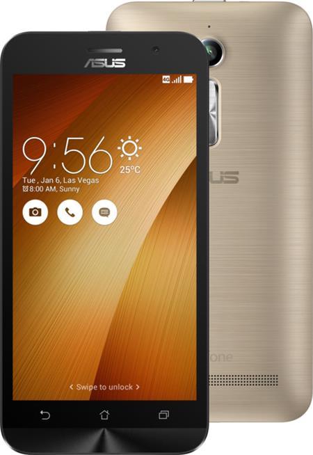 Asus ZenFone GO ZB500KL-3G044WW, zlatý