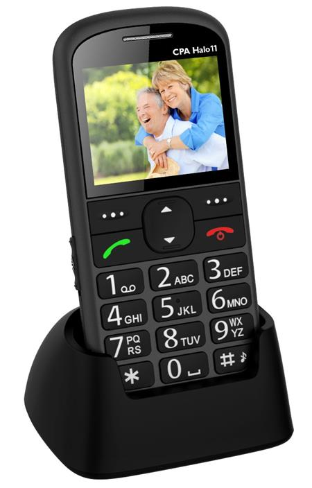 CPA HALO 11 TELEFON ŠEDÝ