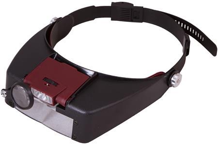 Levenhuk Zeno Vizor H2 Head Magnifier; 69669