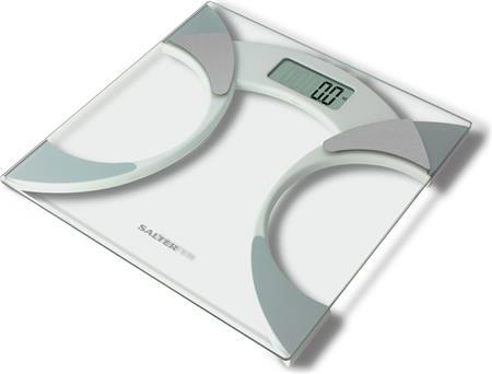 Salter 9141WH3R - Osobní digitální váha s měřením tuku a vody v těle