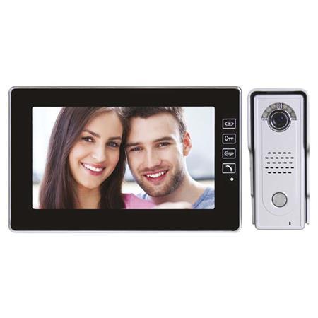 EMOS Domácí videotelefon s pamětí, barevná sada, H1018; 3010000112