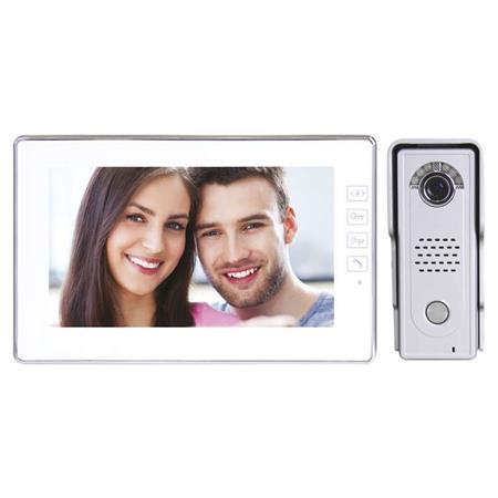 EMOS Domácí videotelefon s pamětí, barevná sada, H1019; 3010000114