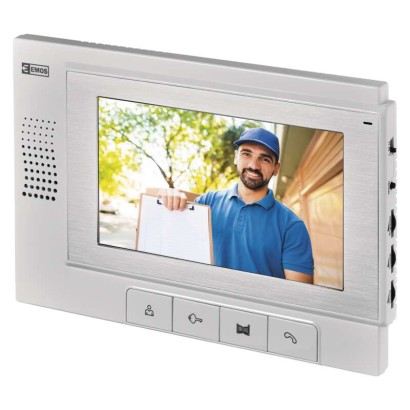 EMOS Domácí videotelefon, barevný, HANDS FREE RL-03 *H1111; 3010001111