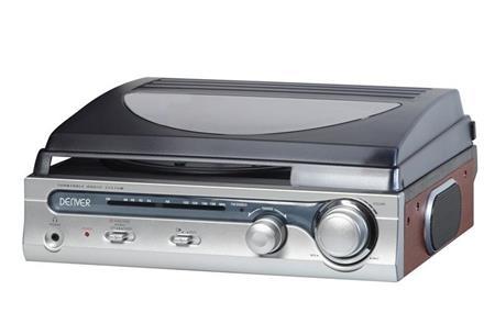 Denver VPR-130 gramofon s rádiem; dvpr130