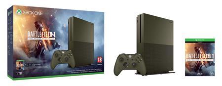 Microsoft XBOX ONE S 1TB + Battlefield 1 + 1 měsíc EA Access herni konzole; 234-00046