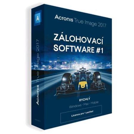 Acronis True Image 2017 - 1 Computer BOX CZ; TIHZB2CZS