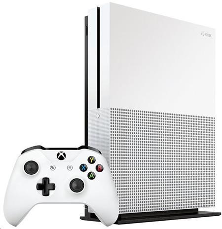 Microsoft XBOX ONE S 500 GB + 1 x hra (Minecraft Favorites)