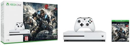 Microsoft XBOX ONE S 1 TB + 1 x hra (Gears of War 4)