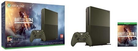 Microsoft XBOX ONE S 1 TB Speciální Edice + 1 x hra (Battlefield 1) + 1 měsíc EA Access