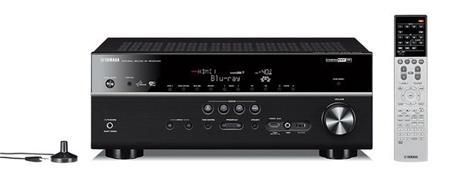 YAMAHA HTR-6067 BLACK - AV receiver; HTR-6067 B