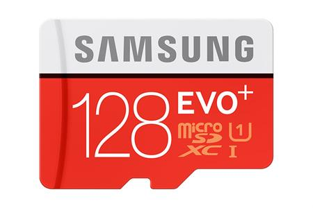 Samsung SDXC 128GB EVO PLUS - pamětová karta, Class 10, adapter; MB-MC128DA/EU