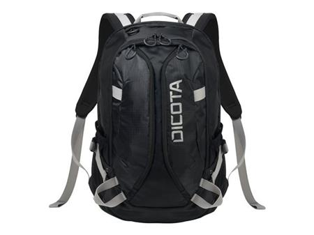 DICOTA, Backpack ACTIVE 14-15.6 black/bl