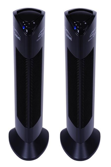 Ionic-CARE - 2x Triton X6 černá čistička vzduchu a ionizátor; Triton X6 černá 2x
