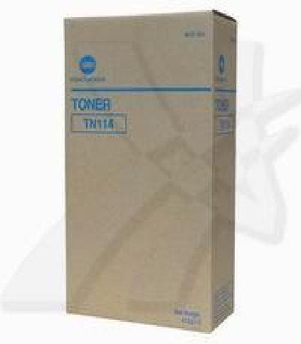 Konica Minolta originální toner TN114, black, 22000 (2x11000)str., 8937-784, Konica Minolta Bizhub 162, 210, Di152, 183,
