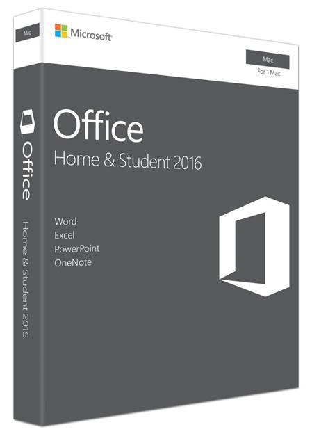 Microsoft Office Mac 2016 pro domácnosti (CZ); GZA-01051