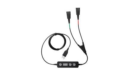 Jabra Link 265, USB-2xQD (pro školení)