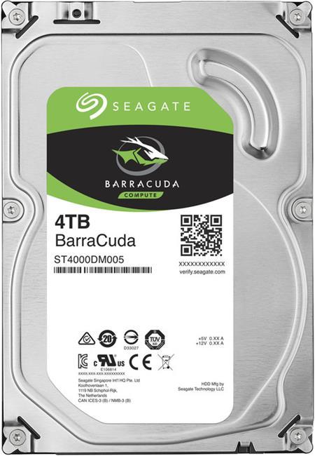 Seagate Barracuda 4TB 3.5'' HDD; ST4000DM005