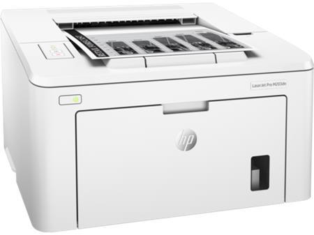 HP LaserJet Pro M203dn - laserová tiskárna A4, 28str./min., 600x600dpi, 128MB, USB 2.0, LAN