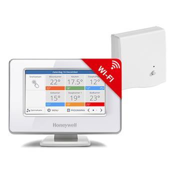 Honeywell EvohomeTouch ATP921R3052 WiFi, řídící jednotka s napájením + BDR91, Česká verze
