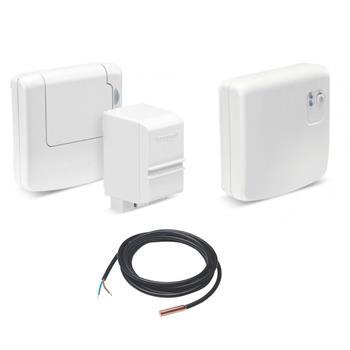 Honeywell Evohome TV - bezdrátový snímač teploty + spínací jednotka BDR91; ATF500DHW