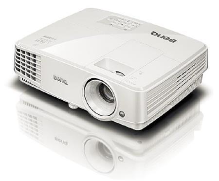 BenQ MX570 projektor - DLP, 3200lm, XGA, HDMI, LANc, SmartEc; 9H.JCS77.14E
