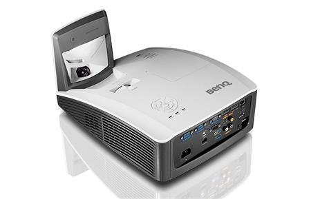BenQ MW855UST projektor - DLP, 3500lm, WXGA, HDMI, LANc, int; 9H.JC677.24E