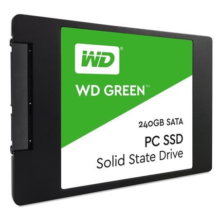 """WD Green SATAIII 7mm, SSD 2,5"""" 240GB ; WDS240G1G0A"""