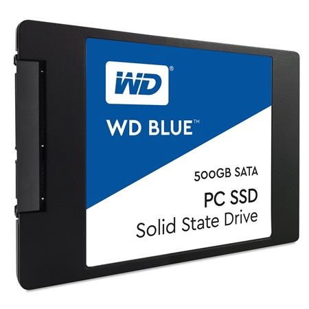 WD Blue PC SSD 500GB; WDS500G1B0A