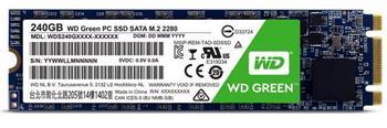 WD Green SSD 240GB interní, SATAIII 2280, M.2 ; WDS240G1G0B