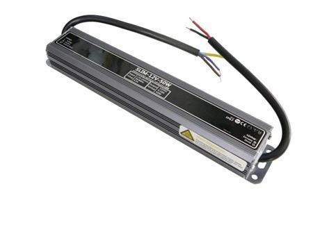 LEDme SLIM voděodolný LED napájecí zdroj 50W 12V IP67; NJ-IP-S-50W-12V