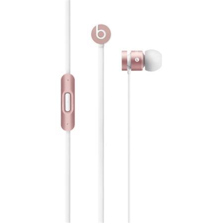 Beats by Dr. Dre UrBeats 2 - špuntová, 3.5mm, růžově zlatá; mllh2zm/b